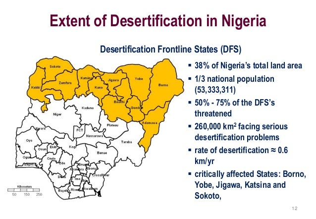 Drought and desertific...