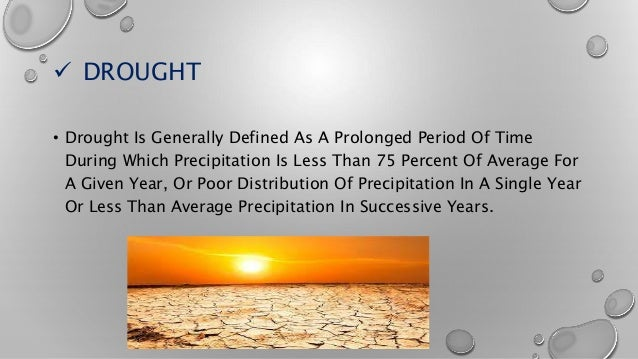 Drought management and water harvesting Slide 3