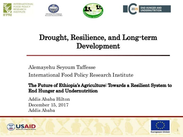 Drought, Resilience, and Long-term Development