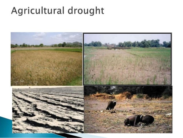 Socio-economic drought Socio-economic drought correlates the supply and demand of goods and services with the three above-...