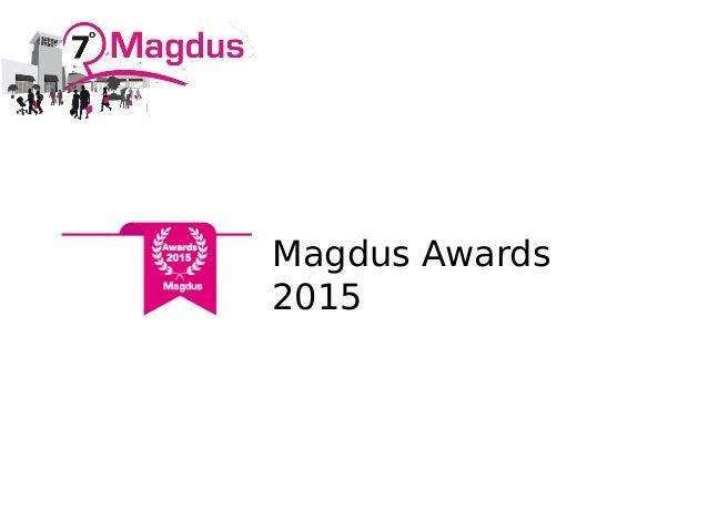 Magdus Awards 2015