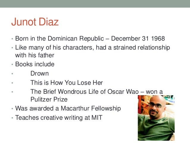 yunior in fiesta by junot diaz By junot diaz 208 pp new york:  in ''fiesta, 1980,'' the partly assimilated yunior sneeringly describes his relatives' apartment in the bronx as.