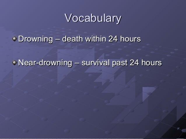 Drowning Slide 3