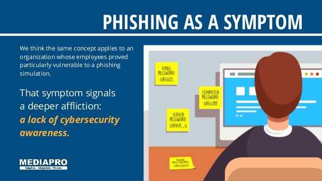We think the same concept applies to an organization whose employees proved particularly vulnerable to a phishing simulati...