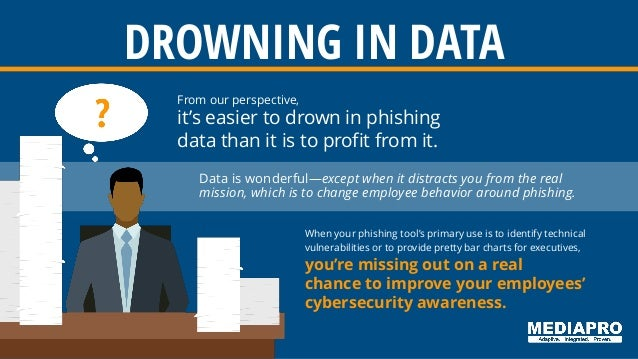 From our perspective, it's easier to drown in phishing data than it is to profit from it. Data is wonderful—except when it...