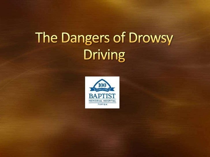 """Driving while drowsy is nodifferent than driving under theinfluence of alcohol or drugs,"" saidRichard Gelula, the Nationa..."