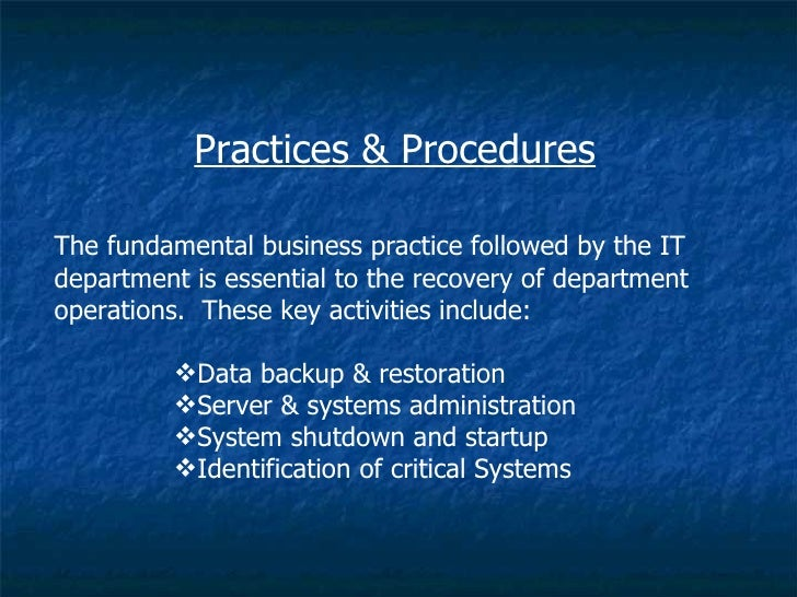 ict disaster recovery plan Ict for disaster management/ict for disaster recovery  applications in planning, risk mitigation and disaster recovery purposes  that use ict effectively in .