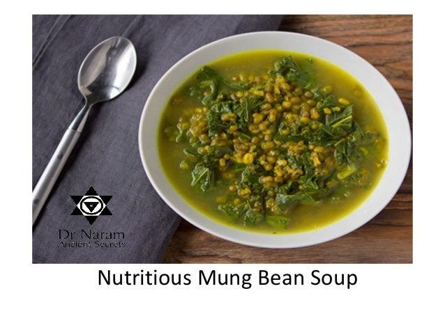 Nutritious Mung Bean Soup