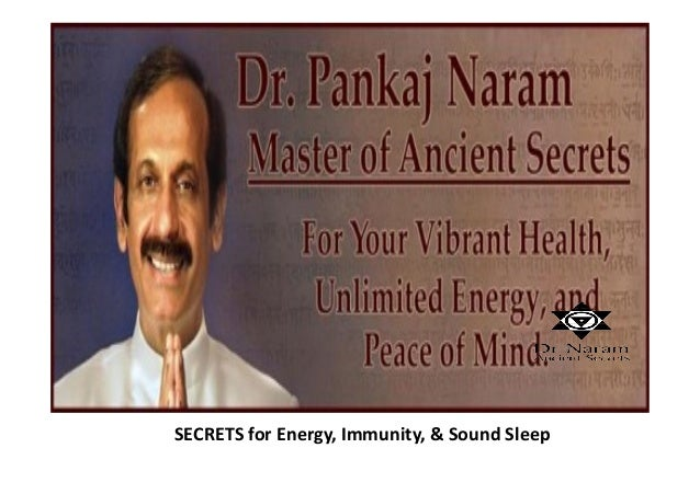 SECRETS for Energy, Immunity, & Sound Sleep