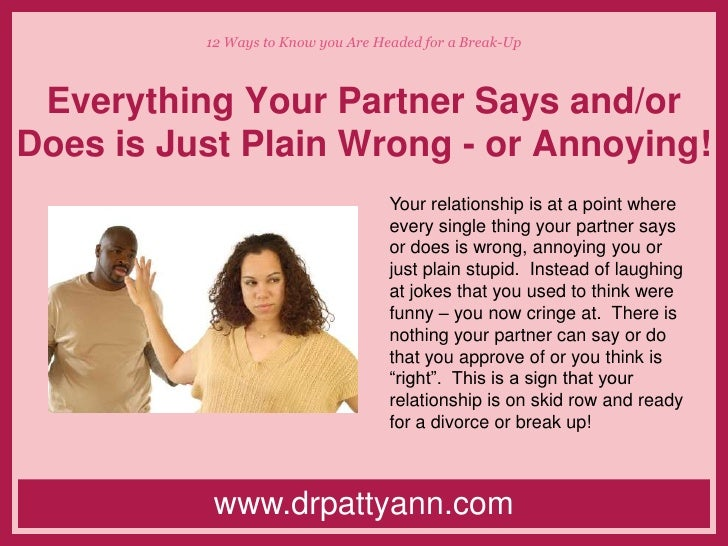 5 ways you know your relationship is over