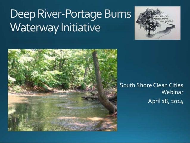 South Shore Clean Cities Webinar April 18, 2014