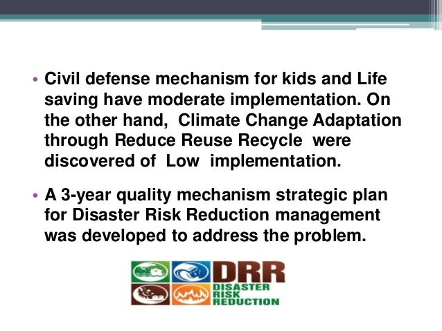 disaster risk reduction and management equip essay Leveraging social capital for resilience through  leveraging social capital for resilience through community teams  play a role in disaster risk reduction in.