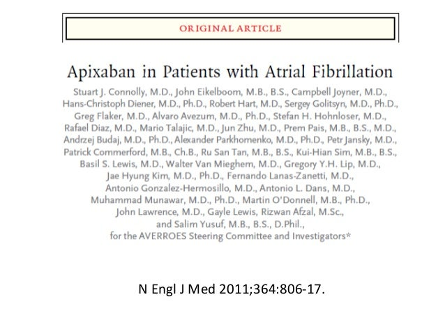 Nonvalvular Afib Efficacy & Safety Info | Rx ELIQUIS ...