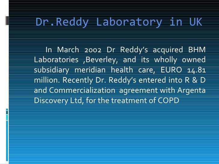 report dr reddy s laboratories ltd Dr reddy's laboratories ltd adr stock - rdy news, historical stock charts, analyst ratings, financials, and today's dr reddy's laboratories ltd adr stock price dow jones, a news corp company news corp is a network of leading companies in the worlds of diversified media, news, education, and information services.