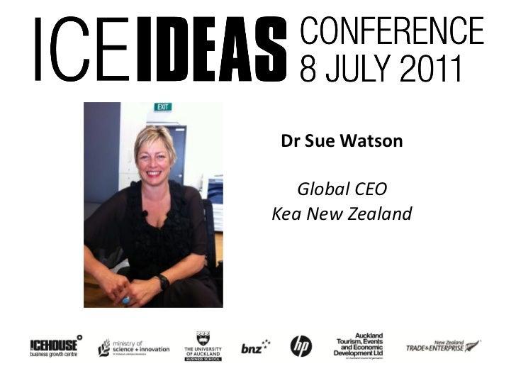Dr Sue Watson   Global CEOKea New Zealand