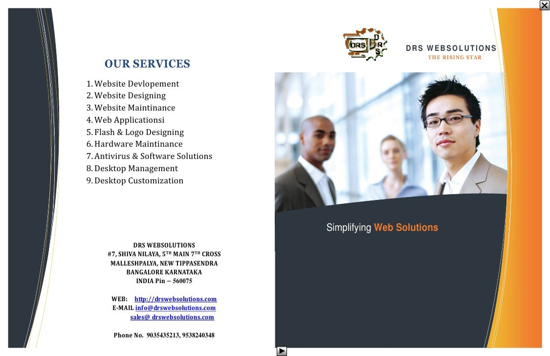 DRS WEBSOLUTIONS      OUR SERVICES                                                                   T H E RISIN G S T A R...