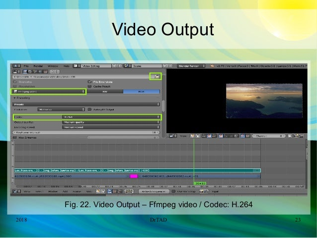 DrTAD Blender Video Editing Add Transition Effects + Music