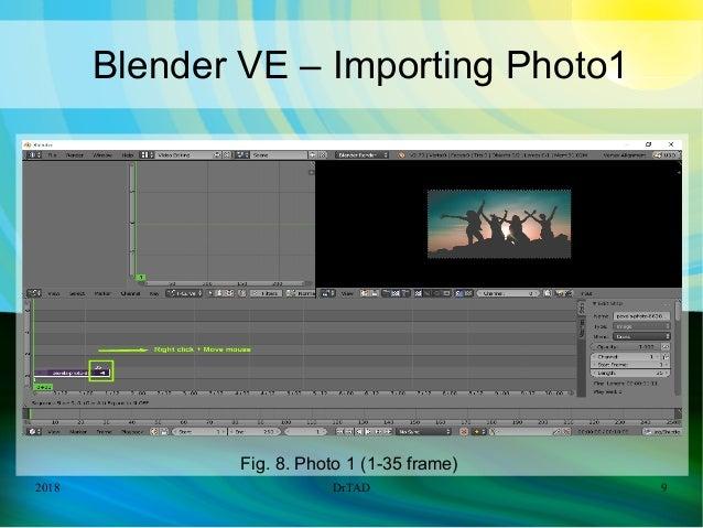 DrTAD Blender Video Editing Add Transition Effects + Music - Tutorial