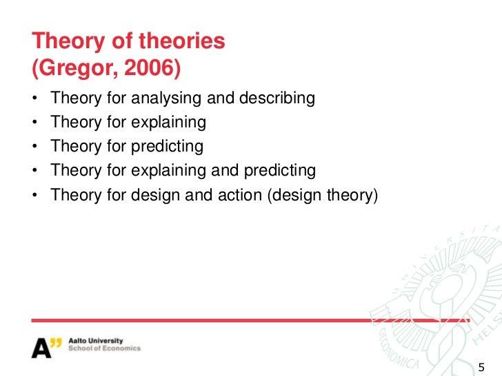 Design Theorizing Ecis Practise Workshop 09062012
