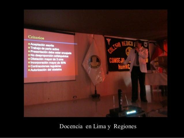 Dr. Herbert Valdivia Obando- Neurólogo H.Santa Rosa  Maestría en Educación Universitaria Docente de UPCH