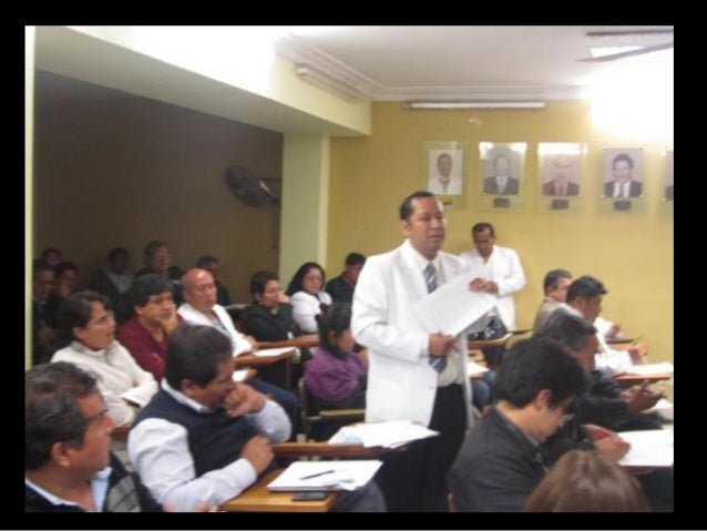 Ex Secretaria de Cuerpo Médico INSN Docente de Pediatría UNMSM Maestría en Docencia e Investigación