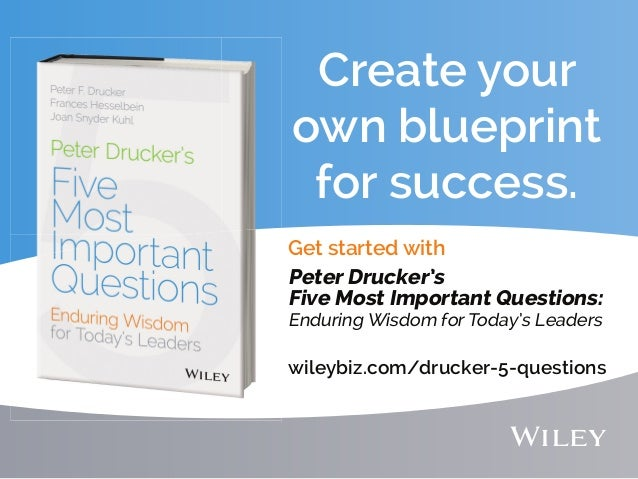 Create Your Own Blueprint