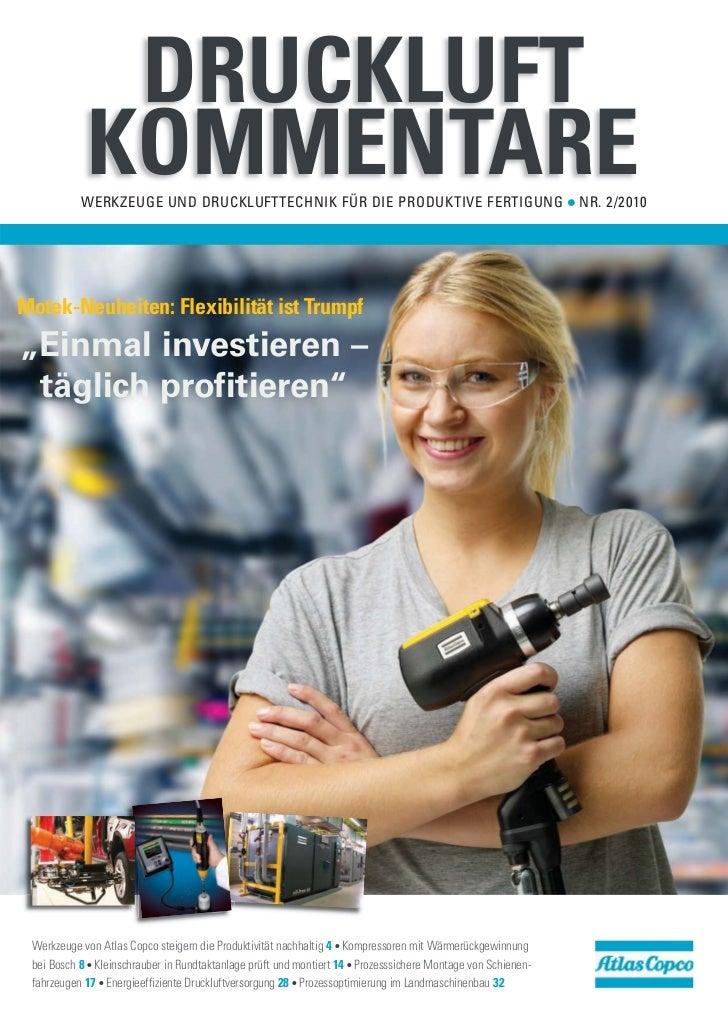 DRUCKLUFT            KOMMENTARE           WERKZEUGE UND DRUCKLUFTTECHNIK FÜR DIE PRODUKTIVE FERTIGUNG                     ...