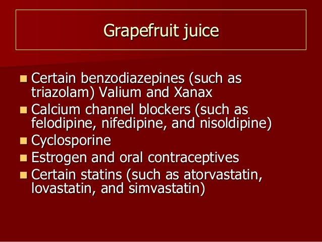 Drug nutrient interaction