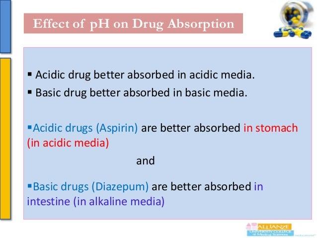 Continue……….  Acidic drug better excreted in basic media. Basic drug better excreted in acidic media  Incase of acidic ...