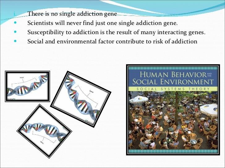 drug addiction genetic predisposition
