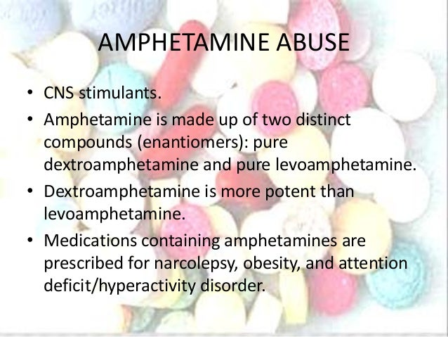 Effects of Drug abuse: Cannabis & Amphetamines