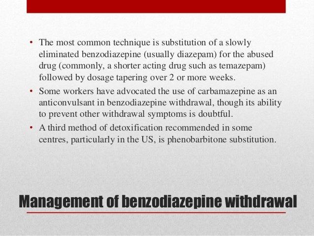 "Drug Abuse & Misuse, Sedative-Hypnotics ""Benzodiazepines"""