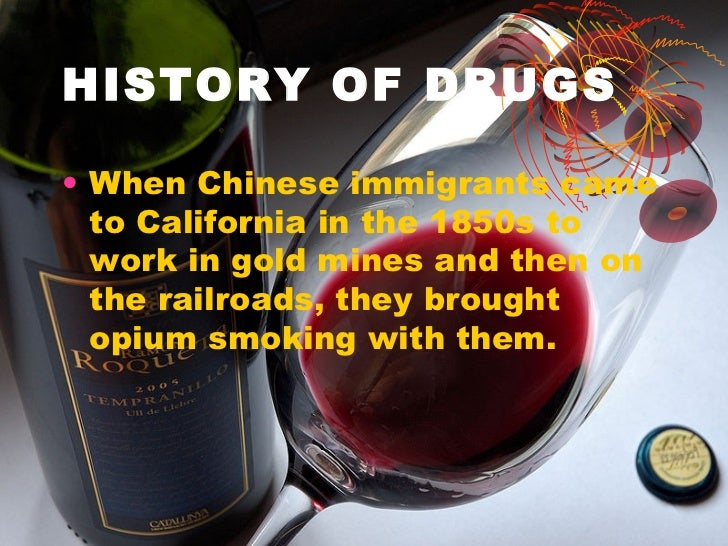 a history of drug use and legislation One of the more humorous results of the government taking the position that smoking marijuana caused homicidal insanity was that several murderers claimed their use of the drug as a defense, arguing that they could not be held responsible for what had clearly been an act committed under the insidious control of reefer madness.