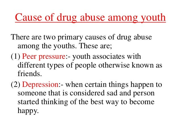 Get the Facts on Substance Abuse