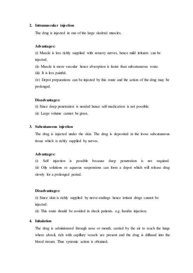 drug research paper outline