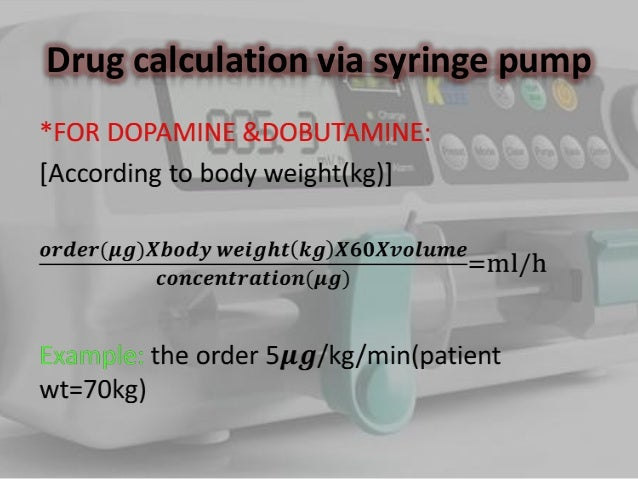 how to set the t34 pump in administering medications