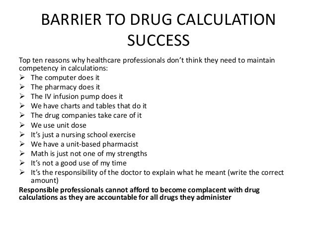 Write amplification calculation of drug
