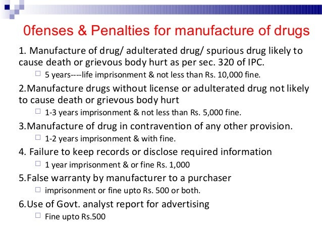 Sale of Drugs  Sale may be defined as the process of passage of articles from the manufacturer to the consumer.  There a...