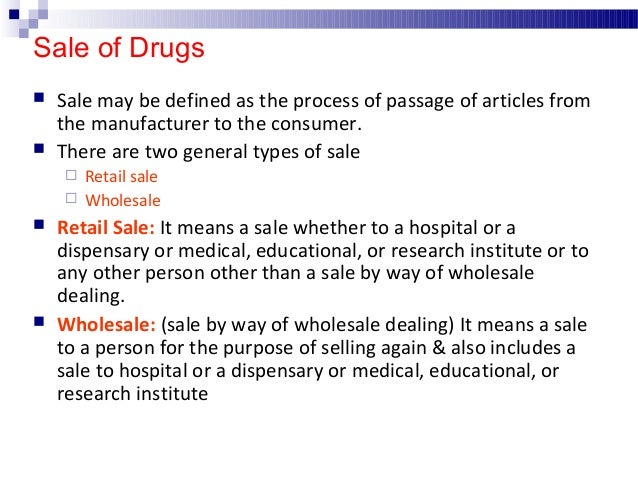 Form no. in which licenses are issued for the sale, stock, exhibit for sale or distribution of drugs License issued Form N...