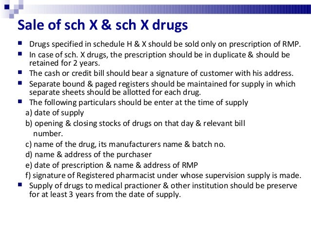Classes of drugs prohibited for wholesale  Misbranded, spurious & adulterated drugs & drugs not of standard quality  Any...