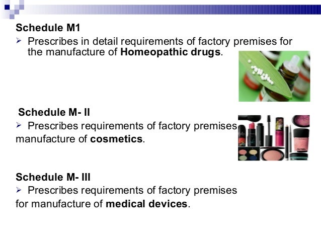 Schedule N  List of minimum equipment for efficient running of pharmacy