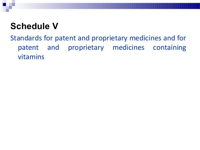Schedule X List of habit forming, psychotropic, and other such drugs Schedule X contains list of drugs which: Need discre...