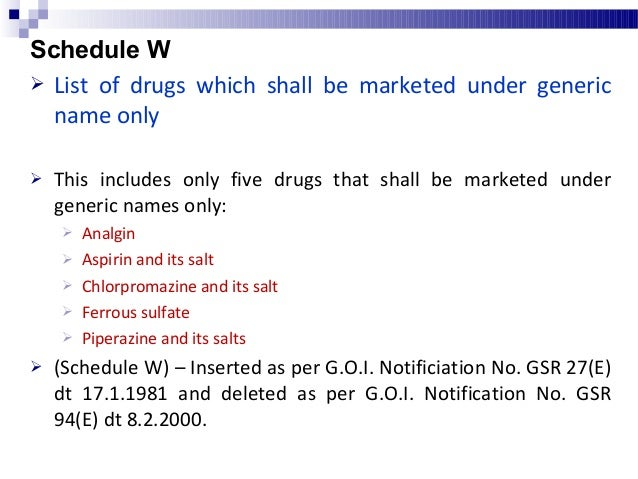Schedule Y Requirements and Guidelines for clinical trials, import, and manufacture of new drugs  The schedule covers det...
