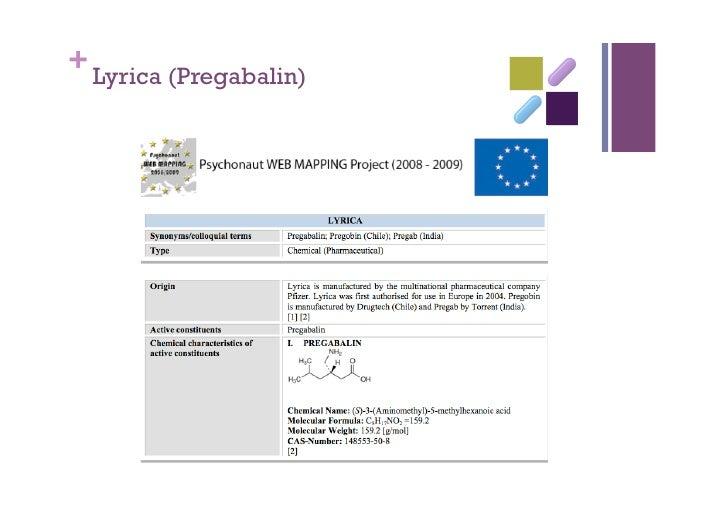 Lyrica and Ritalin