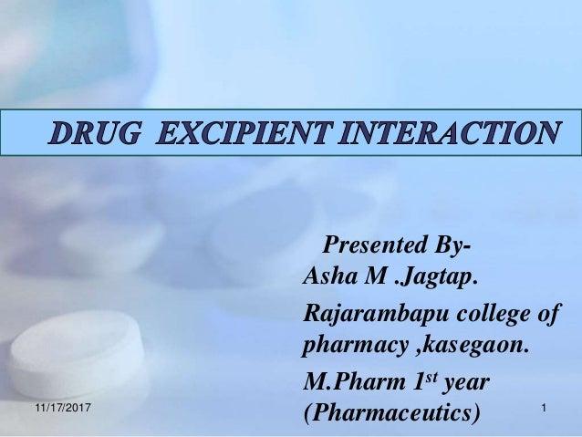 Presented By- Asha M .Jagtap. Rajarambapu college of pharmacy ,kasegaon. M.Pharm 1st year (Pharmaceutics)11/17/2017 1