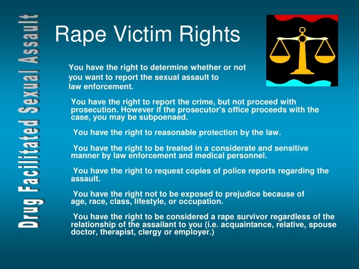 Victims' Rights and Sexual Assault Kits
