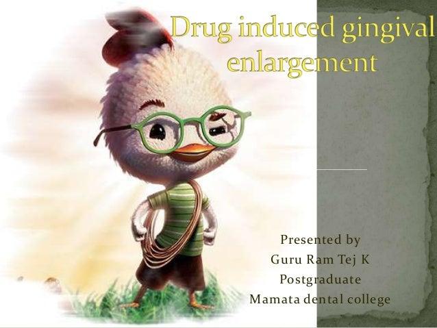Presented by Guru Ram Tej K Postgraduate Mamata dental college
