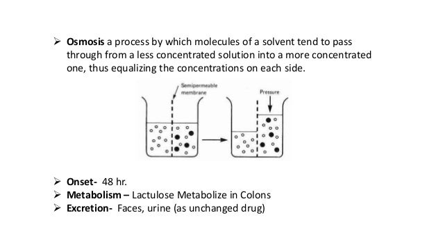 Drug Presentation Lactulose Constipation