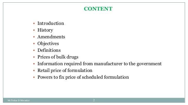 Drug price control order 2013 Slide 2