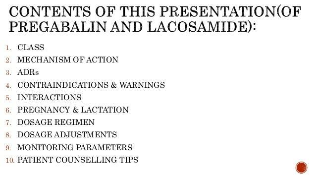 Drug profile of pregabalin and lacosamide: A deep insight!